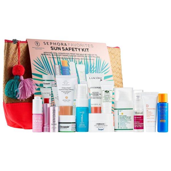 Sephora Sun Safety Kit 防晒套装热卖