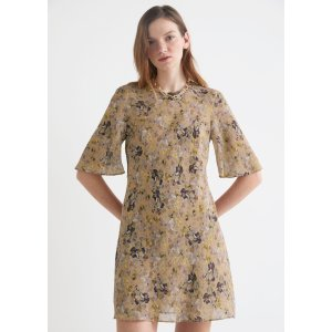 & Other StoriesBelted A-Line Mini Dress