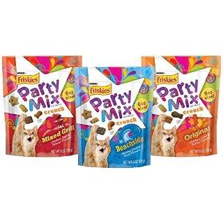 $8.39闪购:Purina Friskies 混合口味猫咪磨牙饼干3袋*6oz