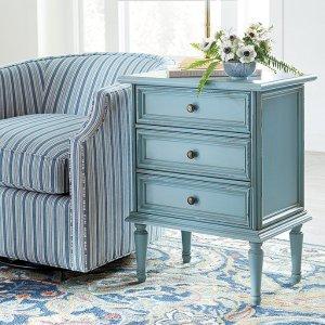 低至$20.99Ballard Designs 精选蓝色地中海风格家具家饰热卖