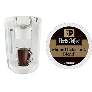 $99.99限今天:Keurig K-Select  新款单杯胶囊咖啡机 + Peet's Coffee 32个胶囊咖啡