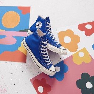 borgoña En necesidad de Prestador  Converse 11.11预热大促收经典款粉色、蓝色、格纹款等7折!£43收格纹款帆布鞋- 英国省钱快报