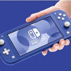 £199入绝美克莱因蓝Nintendo Switch Lite 新配色主机上市 换色圈钱它又来了