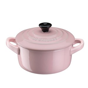 Le Creuset粉色铸铁锅 9cm
