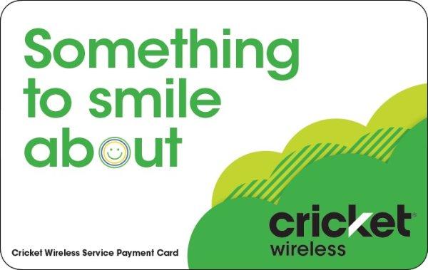 Cricket Wireless 预付费满$75减$10