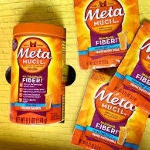 低至$8.99Metamucil 橙味膳食纤维粉 张韶涵、花少同款