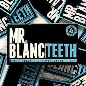 7.8折 绽放迷人微笑折扣升级:Mr.Blanc 美白牙贴热卖 是时候和大黄牙分手了