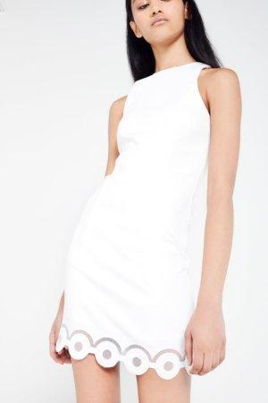 AME Mini Dress With Scallop Hem