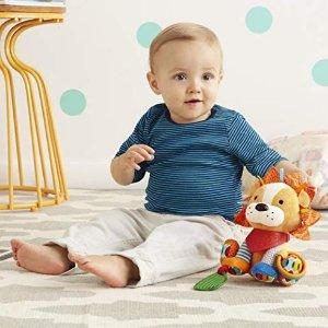 $11.86Skip Hop 婴幼儿小狮子牙胶摇铃