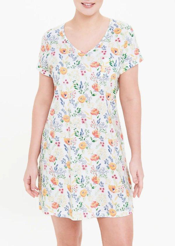 纯棉睡衣裙