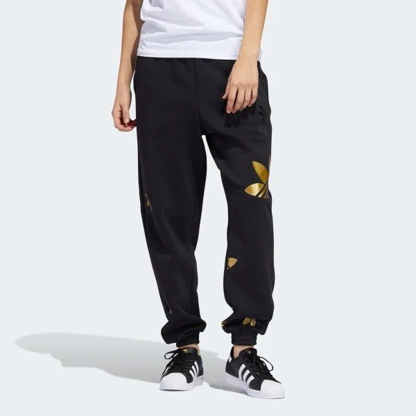三叶草logo运动裤