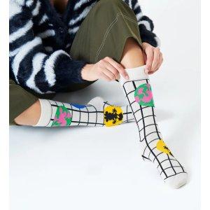 Happy Socks格子袜