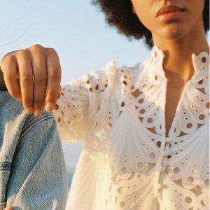 低至5折+额外8折 收优雅连衣裙Maje 独立日美衣热卖 新款蕾丝系列上架 温柔又仙女