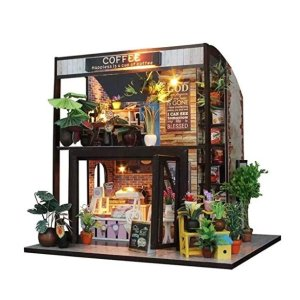 Amazon Flever Dollhouse Miniature DIY House Kit Creative Room with Furniture