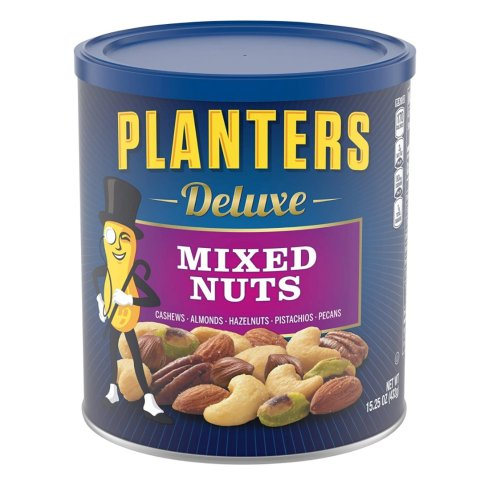 $6.6Planters Deluxe Lightly Salted Mixed Nuts, 15.25 oz. Resealable Container