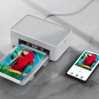 小米 米家无线照片打印机 热升华技术 自动覆膜