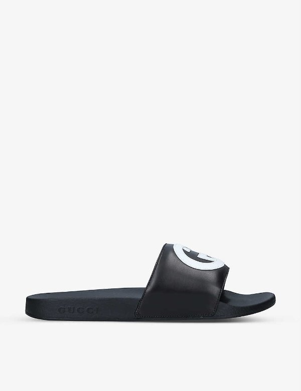 GG logo 拖鞋