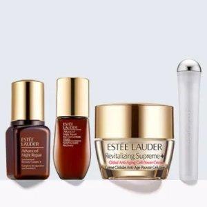 含小棕瓶、眼部精华等明星产品折扣升级:Estée Lauder 满额送封面4件套