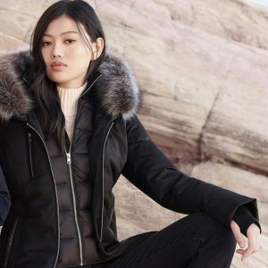 Soia & KyoCHARLENA-FX 狐狸毛领羊毛大衣