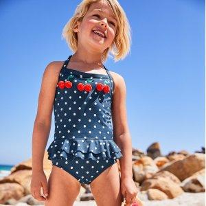 低至4折 $9起Boden官网 儿童服饰半年度大促,颜控妈妈超爱品牌