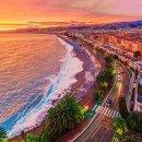阳光 沙滩 海浪 棕榈树玩转南法--厌倦阴雨  就逃到热闹的海滩游泳吧