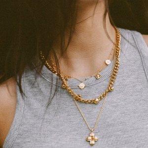 低至5折 收封面款十字项链Missoma 夏季大促开启 超多好看金饰优雅又复古