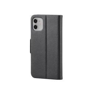 Monoprice黑色iPhone 11 皮革翻盖式保护壳