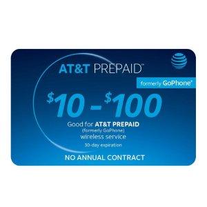 8.5折优惠AT&T、Net10、Simple Mobile 等电信运营商礼卡特卖