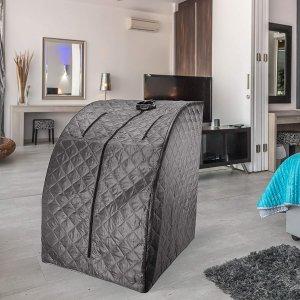 $263.39包邮(原价295)Durasage 便携式远红外桑拿浴箱 在家轻松做SPA