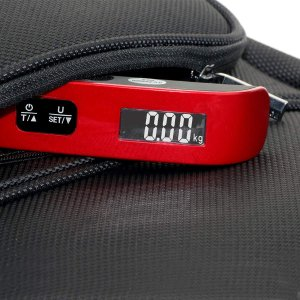Travel Inspira 110LB Digital Luggage Scale with Overweight Alert