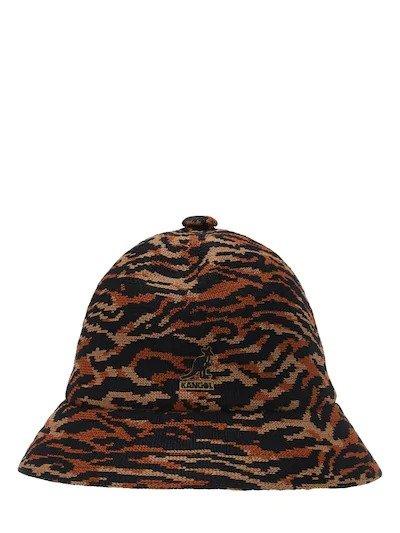 豹纹渔夫帽