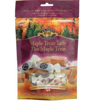 $4.91 加拿大特产之一L B Maple Treat 枫糖浆太妃糖155g