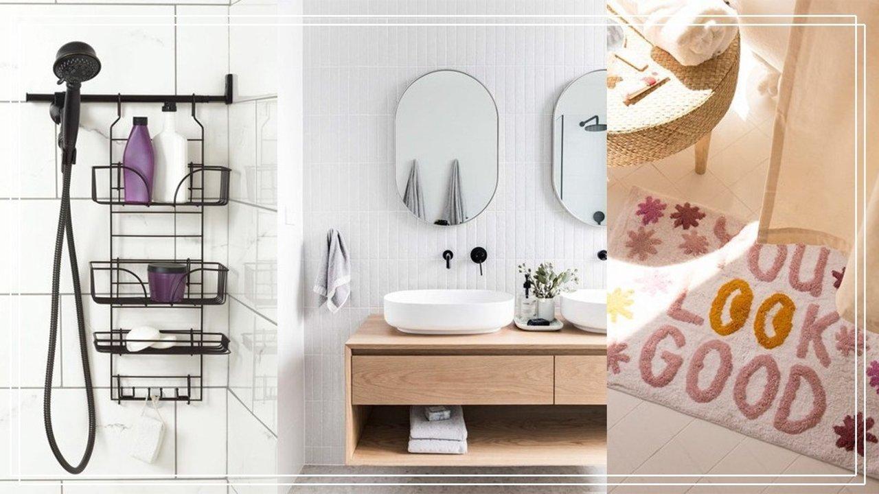 厕所收纳技巧大全与布置灵感!20件好物让你的厕所大一倍美一倍!