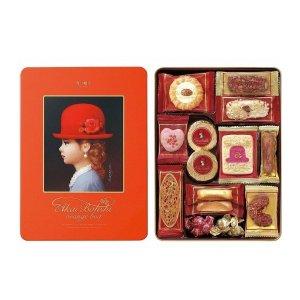 日本红帽子 橘帽礼盒 12种口味