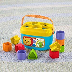 $8.88(原价$12.94)Fisher-Price 费雪宝宝启蒙形状玩具积木盒