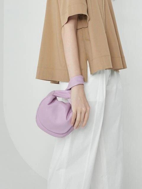 紫色迷你托特包