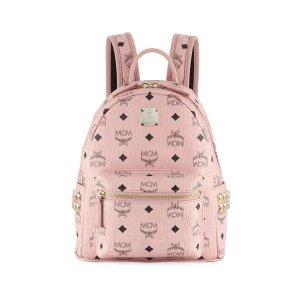 ec4c8b51d8e4 MCMStark Visetos Mini Side-Stud Backpack. $543.75 $725.00. MCM Stark Visetos  Mini Side-Stud Backpack. MCMStark Outline Studs Convertible Visetos Backpack