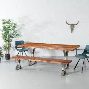 金合欢木餐桌  150cm