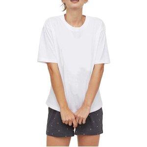 降价$9.99 (原价$23.39)Germinate 女士家居服套装 长袖/短袖 两款可选
