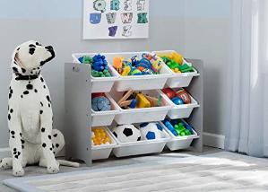 38 delta children mysize 9 bin plastic toy organizer amazon com