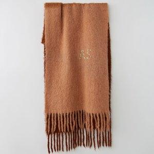 5折起 羊毛围巾£66就收Acne Studios官网 围巾、帽子大促专区 超多配色羊毛围巾等你选 断货超快!