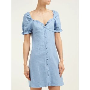 StaudSur linen-blend mini dress | Staud | MATCHESFASHION.COM US