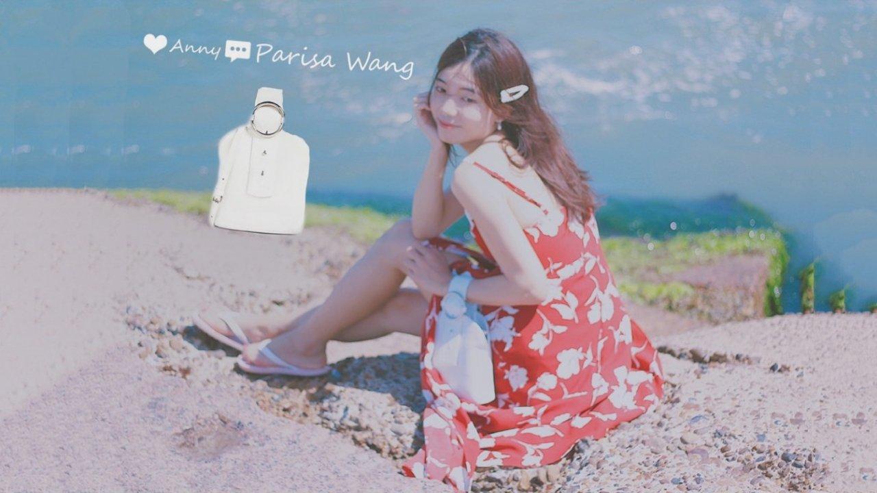 夏季拥有白色包包的五色少女❤   PARISA WANG手腕包测评