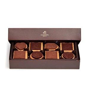 GodivaAssorted Chocolate Biscuit Gift Box, 20 pc. | GODIVA