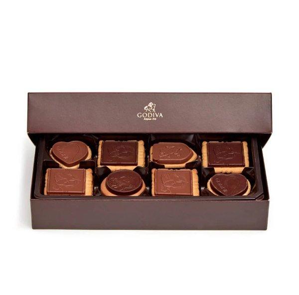 巧克力饼干礼盒20块