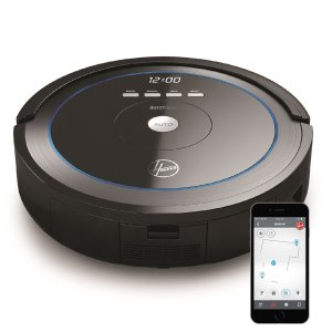 $200Hoover Quest 1000 Wi-Fi Enabled Robot Vacuum Cleaner