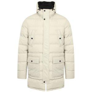 Tokyo Laundry Edmonton男式白色长款棉服 3.3折特卖 冬季御寒必备