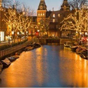画花荷兰 人均£109起2-3晚阿姆斯特丹自由行 4星级酒店spa享受