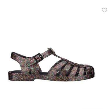 Melissa复古果冻凉鞋