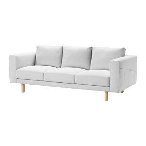 (1) IKEA 白沙發 NORSBORG Sofa